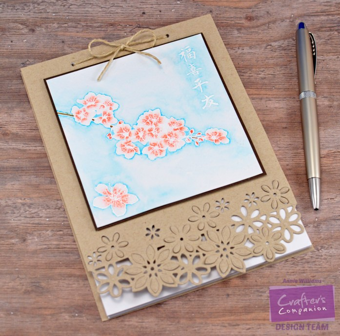 Recycled Paper Notebook by Annie Williams - WM