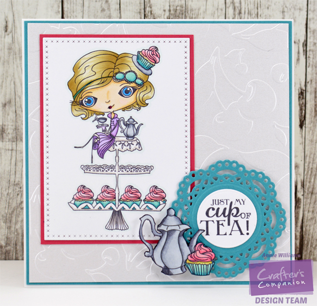 Verity Rose Cupcake Card by Annie Williams - Full