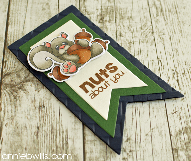 Fathers Day Gift Tag by Annie Williams - Outside
