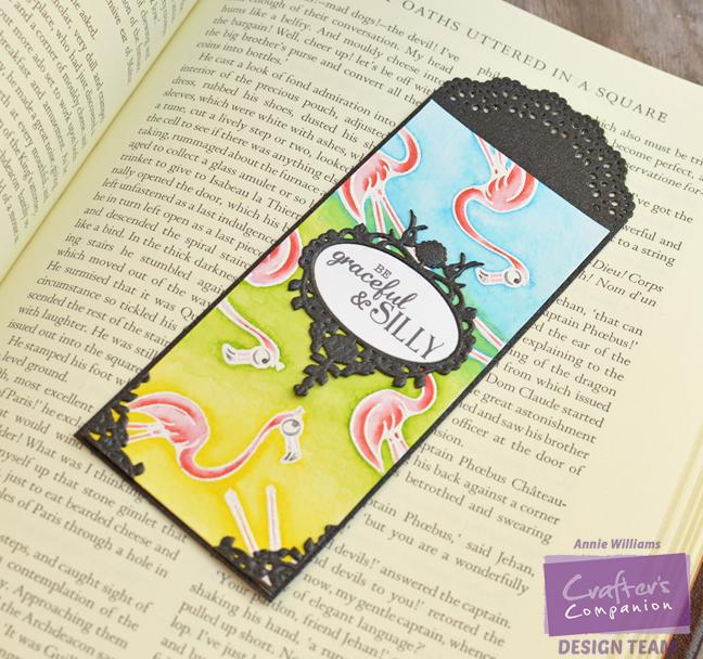 Flamingo Bookmark by Annie Williams - Main