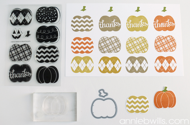 Easy Halloween Candy Bar Wrappers by Annie Williams - Stamp Pumpkins