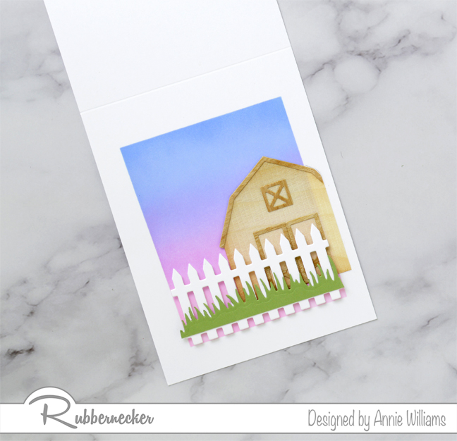 Rubbernecker Blog Country-Sunset-Scene-Card-by-Annie-Williams-Scene-Assembly