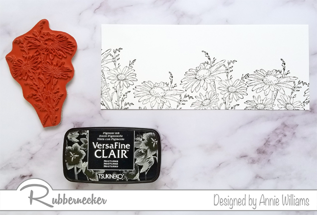 Rubbernecker Blog Slimline-Floral-Cards-Two-Ways-by-Annie-Williams-Daisy-Card-Stamping