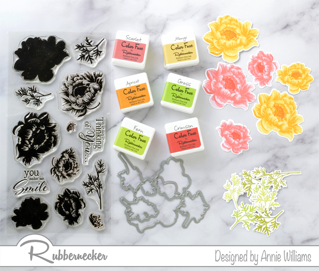 Rubbernecker Blog Slimline-Floral-Cards-Two-Ways-by-Annie-Williams-Hugs-Card-Stamping