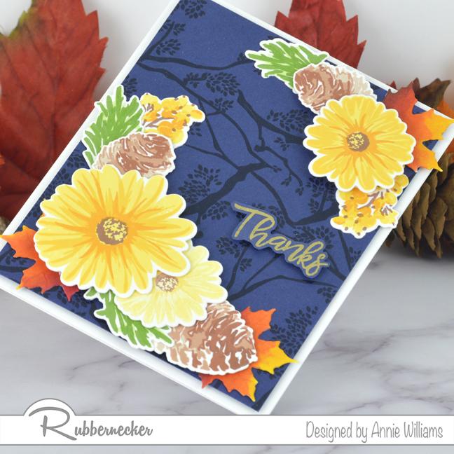 Rubbernecker Blog Autumn-Bouquet-Card-Duo-by-Annie-Williams-Daisy-Detail