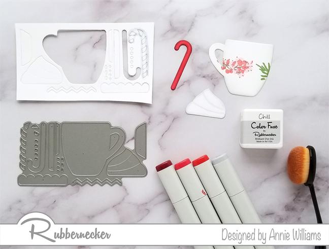 Rubbernecker Blog Christmas-Mug-Slimline-Card-by-Annie-Williams-Shading-Die-Cuts