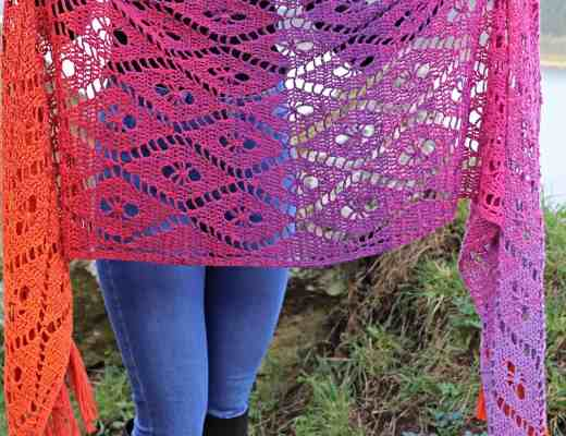 Aideen wrap - crochet pattern from Annie Design