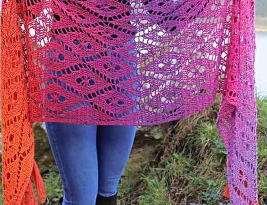 Aideen wrap - crochet pattern from Annie Design