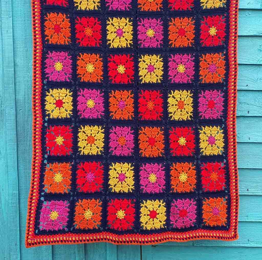 Carousel Blanket – Free Crochet Pattern