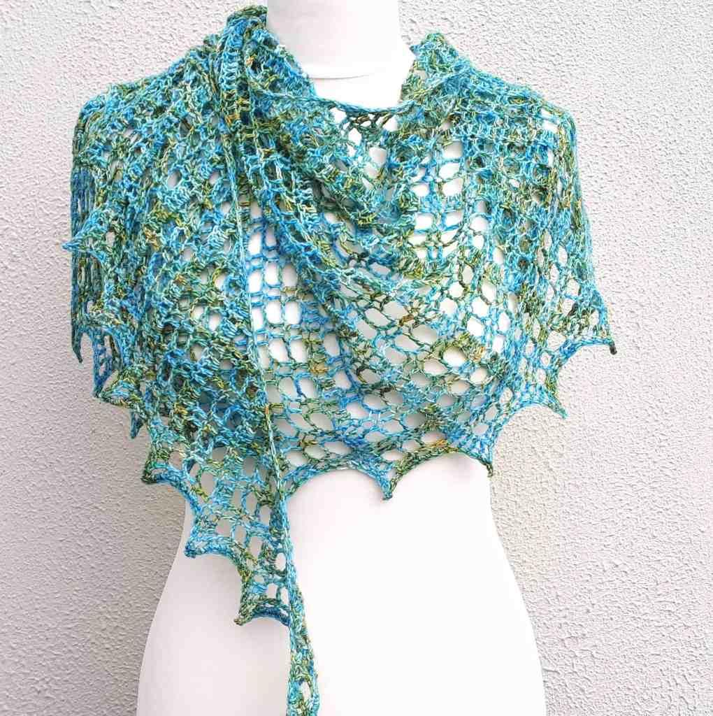One Skein Shawl Crochet Pattern – Flora