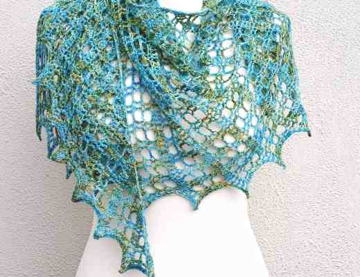 crochet shawl one skein free pattern