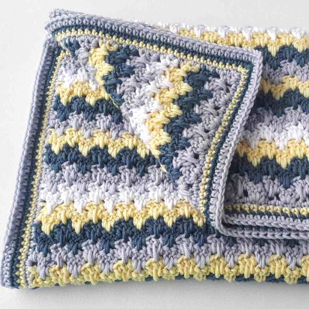 Modern Crochet Baby Blanket Pattern – Poppy's Blanket
