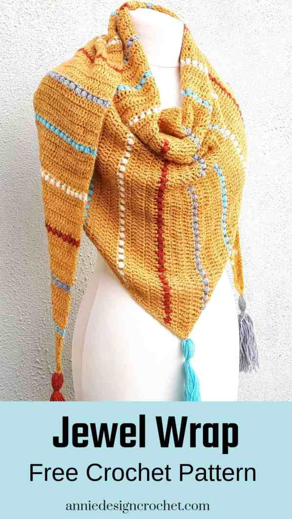 crochet shawl free pattern