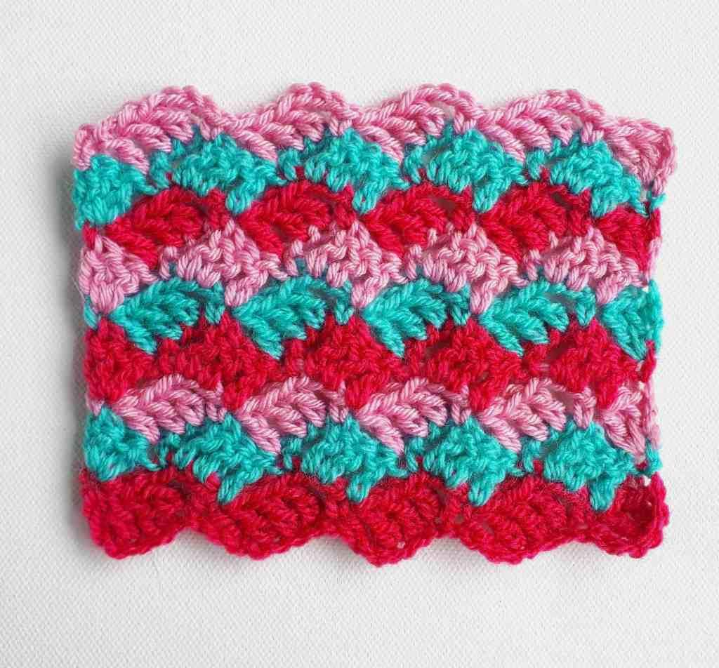 How to Crochet Crosshatch Stitch