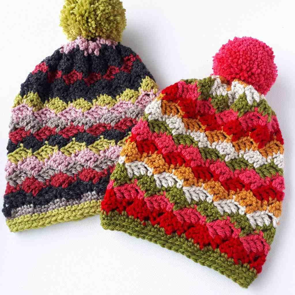 Easy Childrens Hats – Free Crochet Pattern