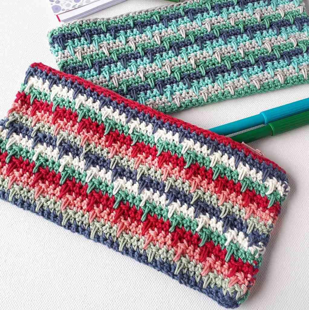 Crochet Pencil Case – Free Pattern