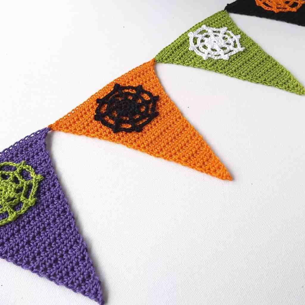 Halloween Crochet Garland – Free Pattern