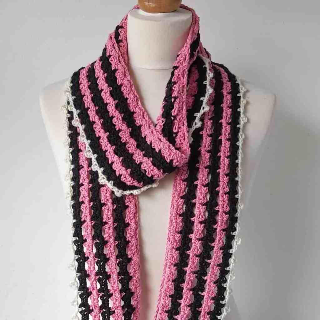 Crochet Skinny Scarf Pattern – Nostalgia