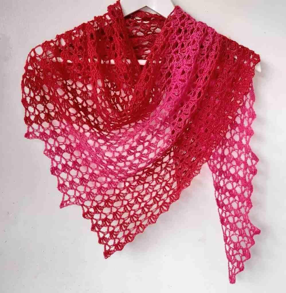 Crochet Summer Shawl Pattern – Hot Chili