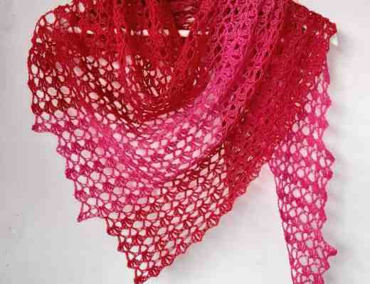 crochet summer shawl pattern