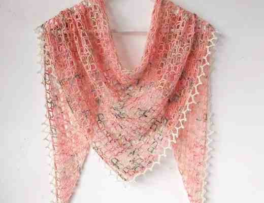 one skein crochet shawl pattern