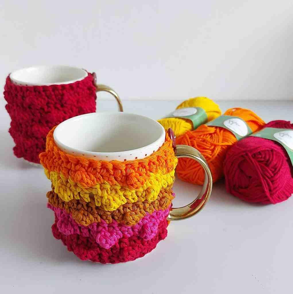 Crochet Mug Cozy – Free Pattern