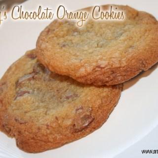 Terry's Chocolate Orange Cookies