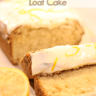 Lemon and White Chocolate Loaf Cake & Ultimate Blog Party 2013!