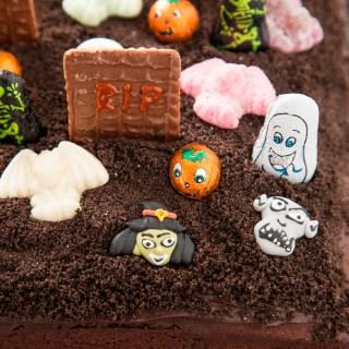 Chocolate Graveyard Cake