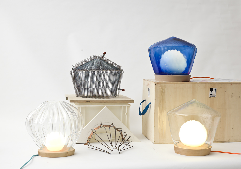 Pre-Mould Lights by Annika Frye-all on transport box and on