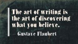 writing quote Gustave Flaubert
