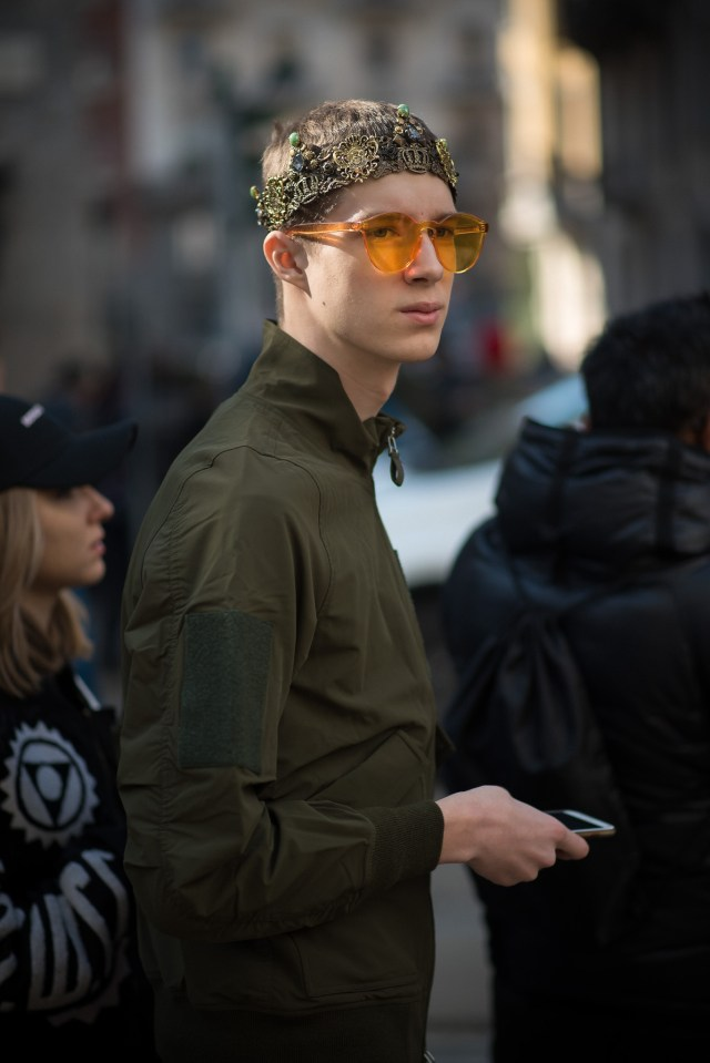 Introvert Extrovert? Being introverted isn't the same as being shy! Photography by Annika Lagerqvist - www.annikasomething.com - During Milan Fashion Week at Dolce & Gabbana, February 2017