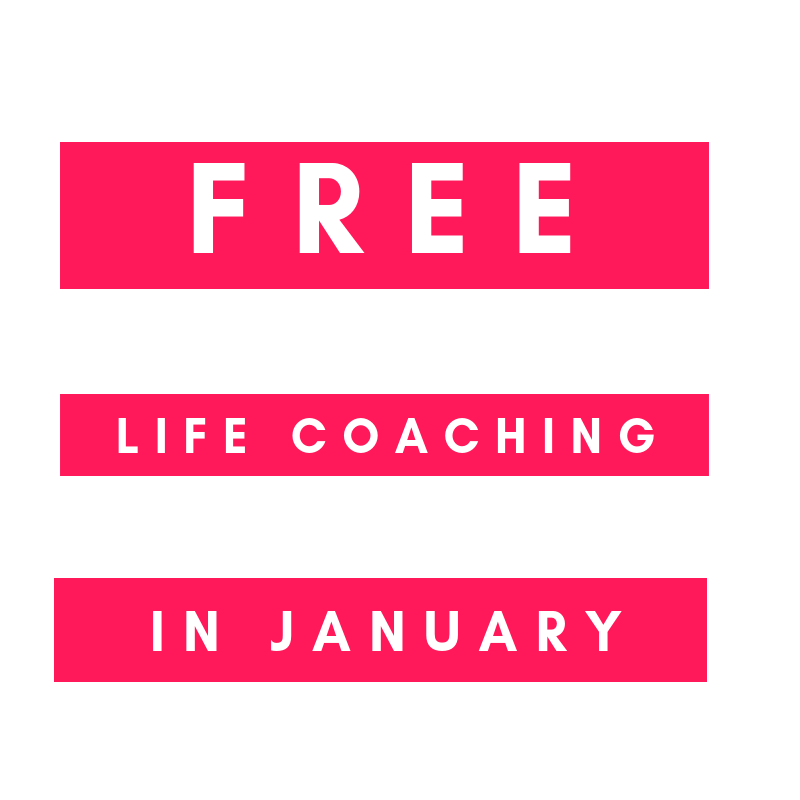 COMPETITION: Free Life Coaching in January