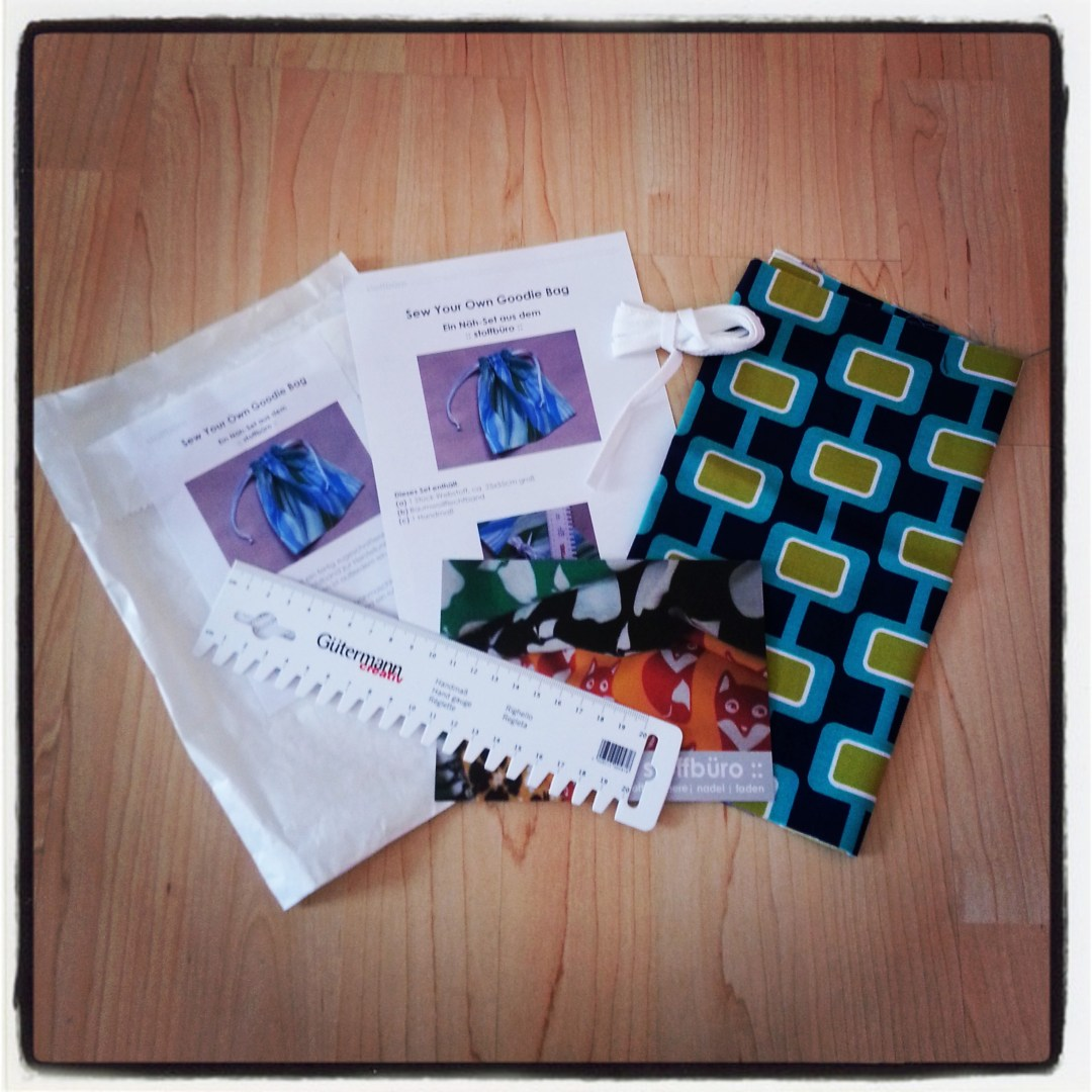 Sew Your Own Goodie Bag - das Bastelset