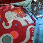 Farbenmix Stoffschätzchen - Elefantös
