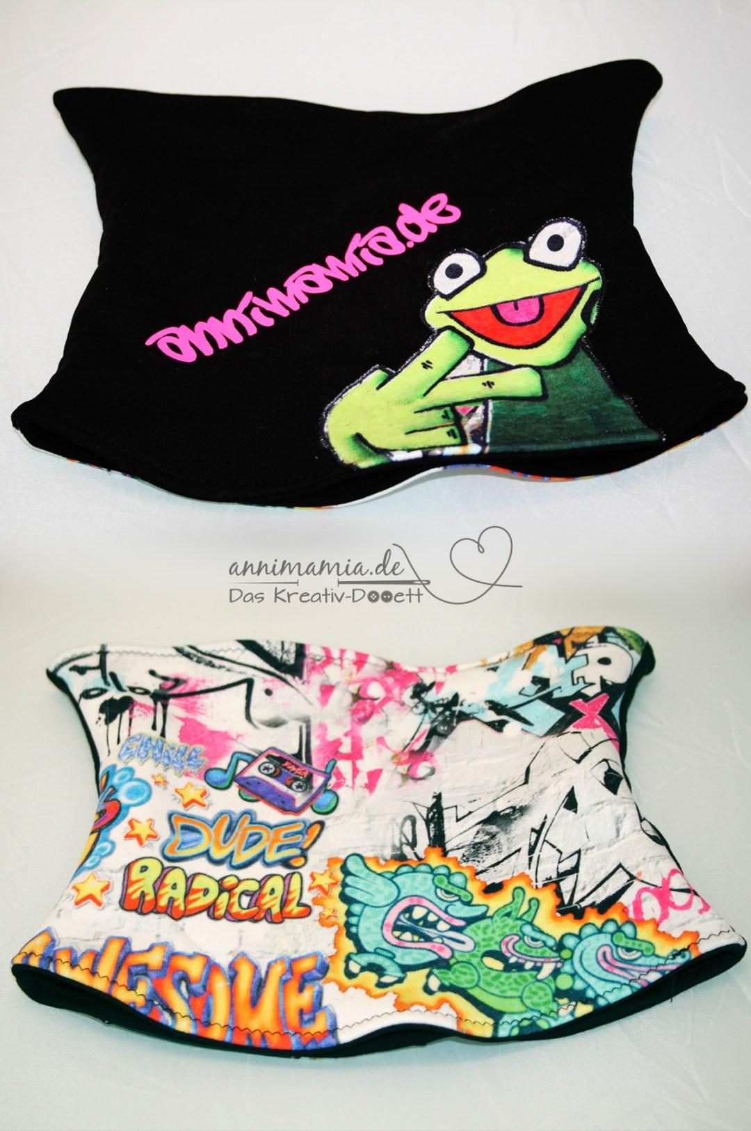 Kermit Graffiti Mütze