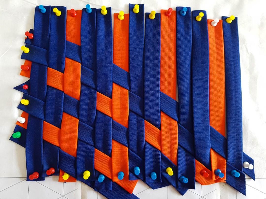 KSW 20: Die ersten gewebten Herzen (Fabric-Weaving)