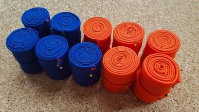 KSW 20: gebügelte Stoffbänder