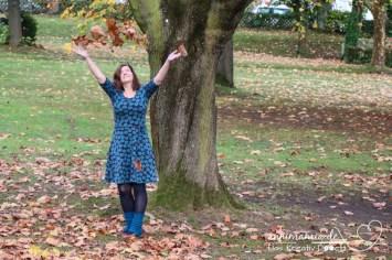 Lillestoff Grandoria meets Jersey-Kleid Ella