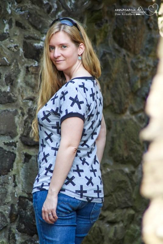 T-Shirt Sally von Romy Nähwerk