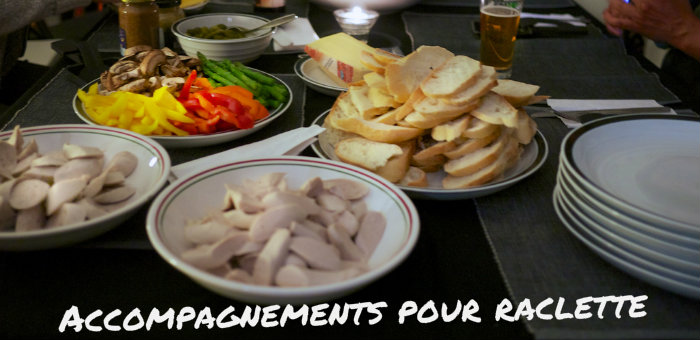 Accompagnement Raclette