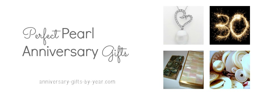 Perfect Pearl Anniversary Gifts Ideas For Your 30 Years