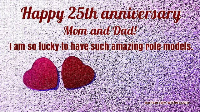 25Th Anniversary Quotes | 25th Anniversary Wishes Happy 25th Anniversary Images Quotes