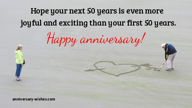 50th anniversary wishes