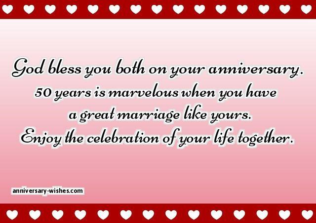 happy 50th anniversary wishes
