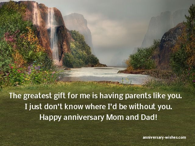 Anniversary Wishes For Parents Happy Anniversary Mom And Dad