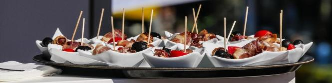 Choosing Food for A Party, Food Selection, Party food, Anniversary Party Food,