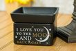 I love you to the moon and back Oil Warmer