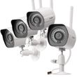 Wireless Security Camera System (4 cameras pack)
