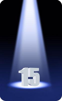 spotlight on 15 year anniversary image